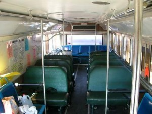Original interior seating