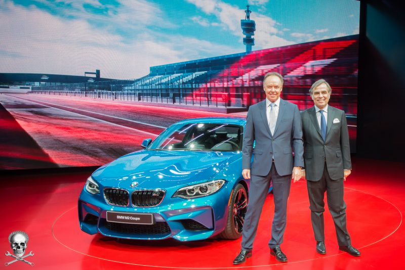 Ian Robertson, Ludwig Willisch and the new BMW M2 Coupé