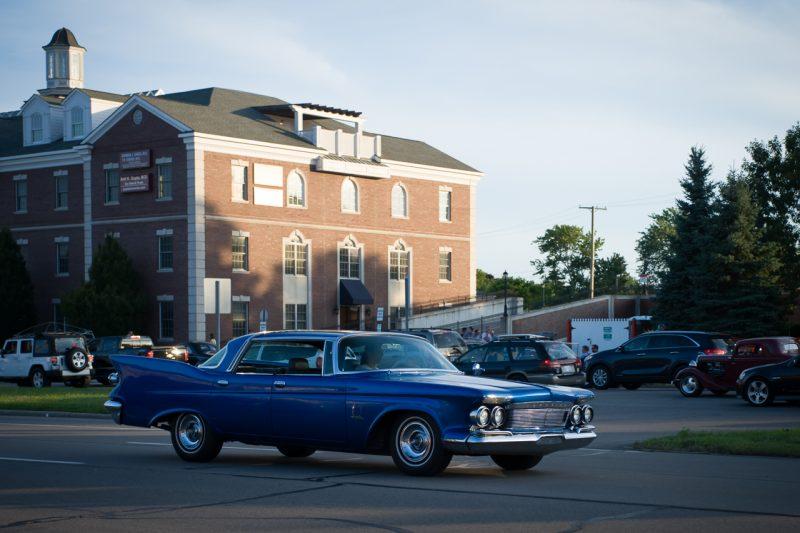 61 Chrysler Imperial.  Missing some chrome.