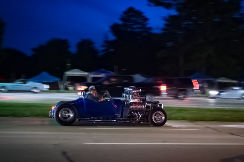 I didn't ever find this car to get a better look.  That's four blowers on two engines.   I don't know what it's called, but I'd call it epic understeer.