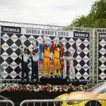 Winners of the Diesel GP race.