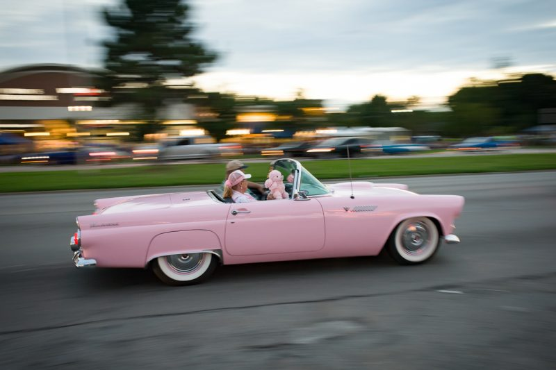 Pink T-Bird just doesn't sound the same.