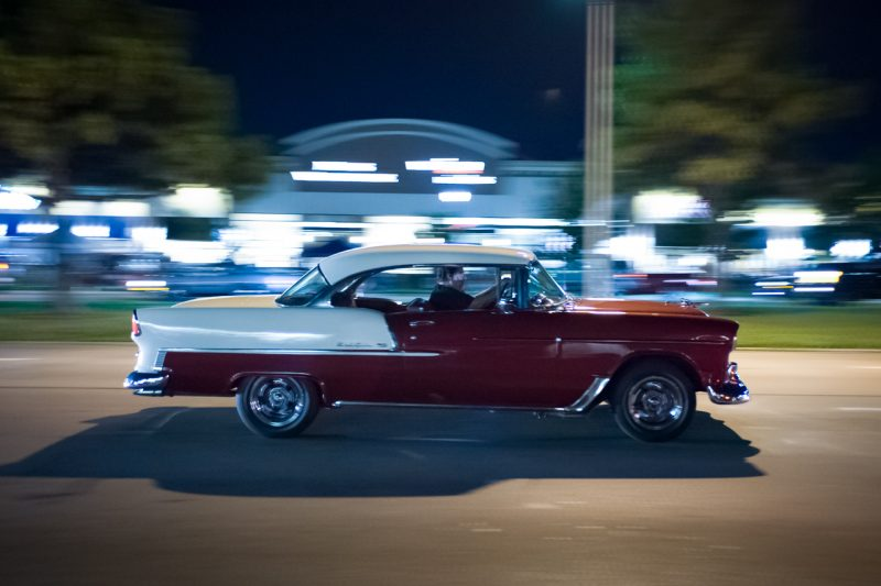 55 Bel AirNight Cruising