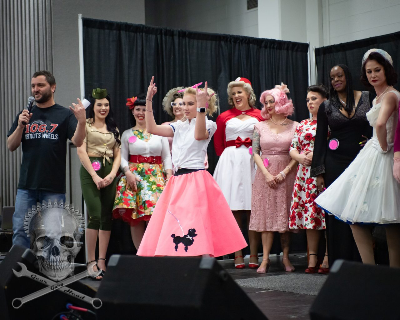 """Ava the Tiny Pinup""Miss Autorama Contest 2019"